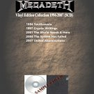 Megadeth - Vinyl Edition Collection 1994-2007 (Silver Pressed 5CD)*
