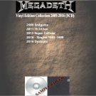 Megadeth - Vinyl Edition Collection 2009-2016 (Silver Pressed 5CD)*