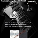 Metallica - Remastered & Reissue Collection 1982-1984 (3CD)