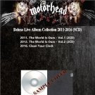 Motorhead - Deluxe Live Album Collection 2011-2016 (Silver Pressed 5CD)*