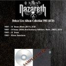 Nazareth - Deluxe Live Album Collection 1981 (Silver Pressed 6CD)*