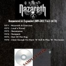 Nazareth - Remastered & Expanded 2009-2011 Vol.1 (6CD)