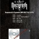 Nazareth - Remastered & Expanded 2009-2011 Vol.3 (Silver Pressed 5CD)*