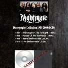 Nightmare - Discography Collection 1984-2000 (Silver Pressed 5CD)*