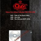 Ozzy Osbourne - Deluxe Live Album Collection 1982-1986 (Silver Pressed 4CD)*