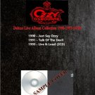 Ozzy Osbourne - Deluxe Live Album Collection 1990-1993 (Silver Pressed 4CD)*