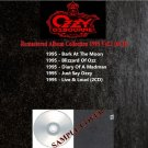 Ozzy Osbourne - Remastered Album Collection 1995 Vol.1 (Silver Pressed 6CD)*