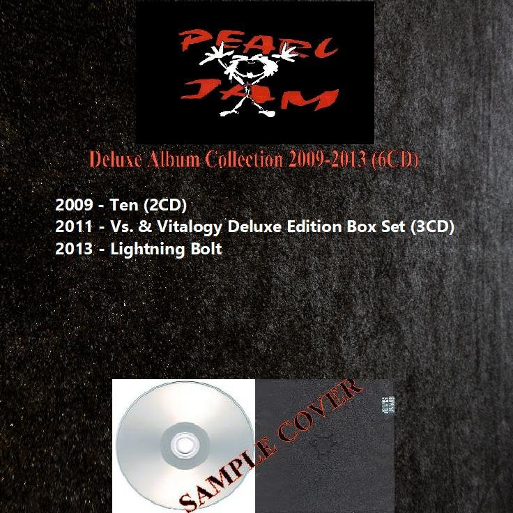 Pearl Jam - Deluxe Album Collection 2009-2013 (6CD)