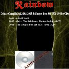 Rainbow - Deluxe Compilation 2002-2013 & Singles Set 1975-1986 (Silver Pressed 6CD)*