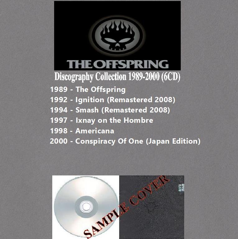The Offspring - Discography Collection 1989-2000 (Silver Pressed 6CD)*