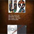U2 - The Vinyl Collection 1987-1991 (Silver Pressed 4CD)*