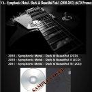 VA - Symphonic Metal - Dark & Beautiful Vol.1 (Silver Pressed Promo 6CD)*