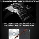 VA - Symphonic Metal - Dark & Beautiful Vol.4 (Silver Pressed Promo 4CD)*