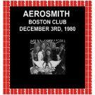 Aerosmith - Boston Club, Boston, 1980 HD Remastered Edition (2018) CD