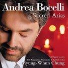Andrea Bocelli - Sacred Arias (2018 Silver Pressed Promo CD)*