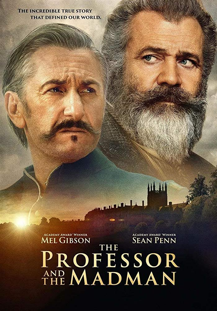 The Professor And The Madman (2019) Digital Copy Backup-DVD+Download