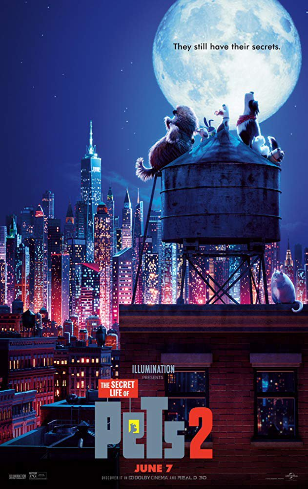 The Secret Life Of Pets 2 (2019) Digital Copy Backup-DVD+Download