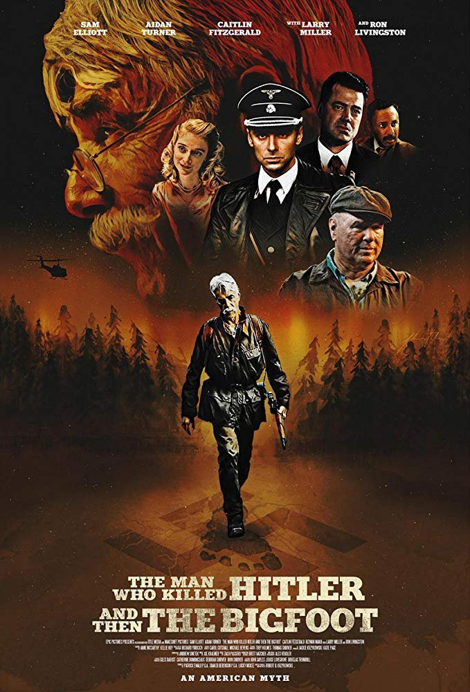 The Man Who Killed Hitler and Then The Bigfoot (2019) Digital Copy Backup-DVD+Download