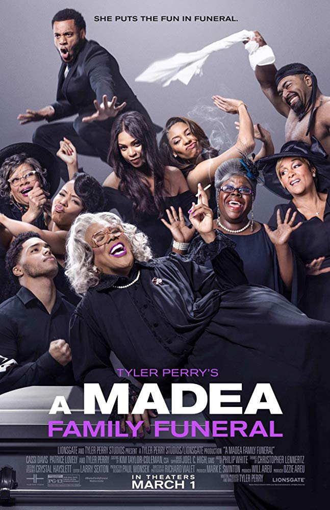 A Madea Family Funeral (2019) Digital Copy Backup-DVD+Download