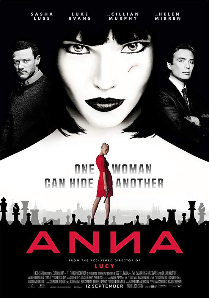 Anna (2019) Digital Copy Backup-DVD+Download