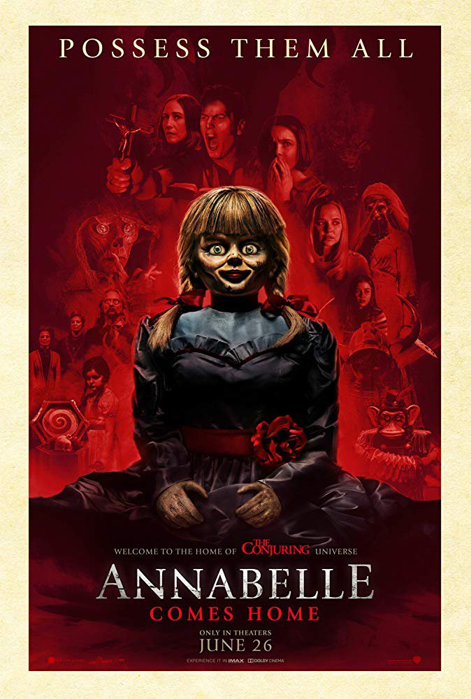 Annabelle Comes Home (2019) Digital Copy Backup-DVD+Download