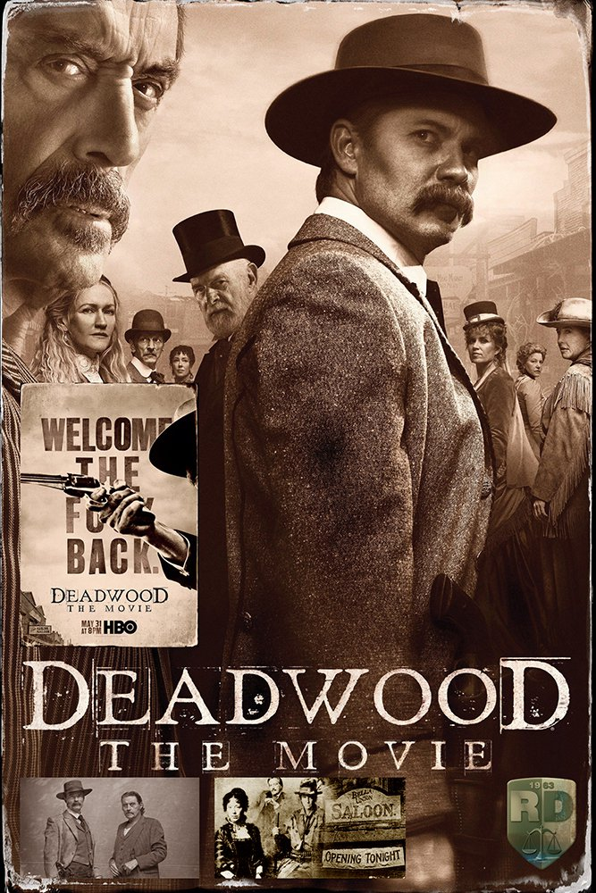 Deadwood The Movie (2019) Digital Copy Backup-DVD+Download