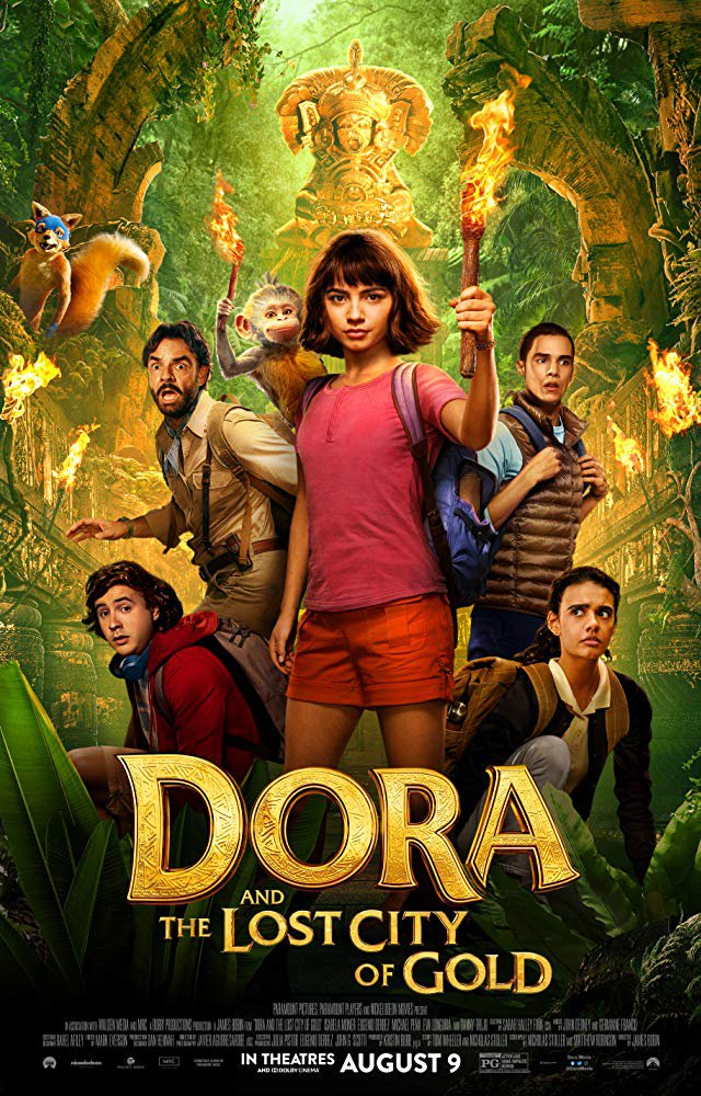Dora And The Lost City Of Gold (2019) Digital Copy Backup-DVD+Download