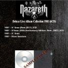 Nazareth - Deluxe Live Album Collection 1981 (DVD-AUDIO AC3 5.1)