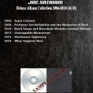 Joe Satriani - Deluxe Album Collection 2006-2018 (DVD-AUDIO AC3 5.1)