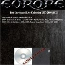 Europe - Best Unreleased Live Collection 2007-2009 (DVD-AUDIO AC3 5.1)