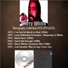 Barry White - Discography Collection 1973-1975 (DVD-AUDIO AC3 5.1)