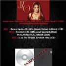 Jennifer Lopez - Dance Again.The Hits (Super Deluxe) & Greatest Hits 2012-13 (DVD-AUDIO AC3 5.1)