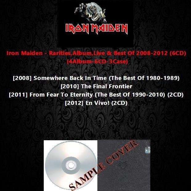 Iron Maiden - Rarities,Album,Live & Best Of 2008-2012 (DVD-AUDIO AC3 5.1)