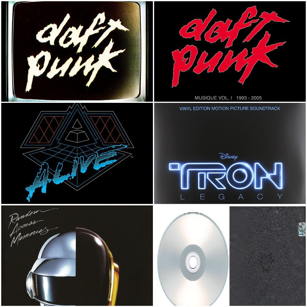 Daft Punk - Album Deluxe,Live & Remixes 2006-2013 (DVD-AUDIO AC3 5.1)
