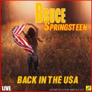 Bruce Springsteen - Back In The USA Live (2019 Silver Pressed Promo CD)*