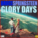 Bruce Springsteen - Glory Days Live (2019 Silver Pressed Promo CD)*