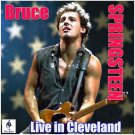 Bruce Springsteen - Live In Cleveland (2019 Silver Pressed Promo CD)*