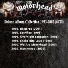 Motorhead - Deluxe Album Collection 1993-2002 (Silver Pressed 6CD)*