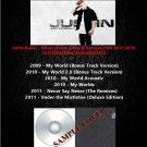 Justin Bieber - Deluxe Album Bonus & Remixes 2009-2011 (Silver Pressed 6CD)*