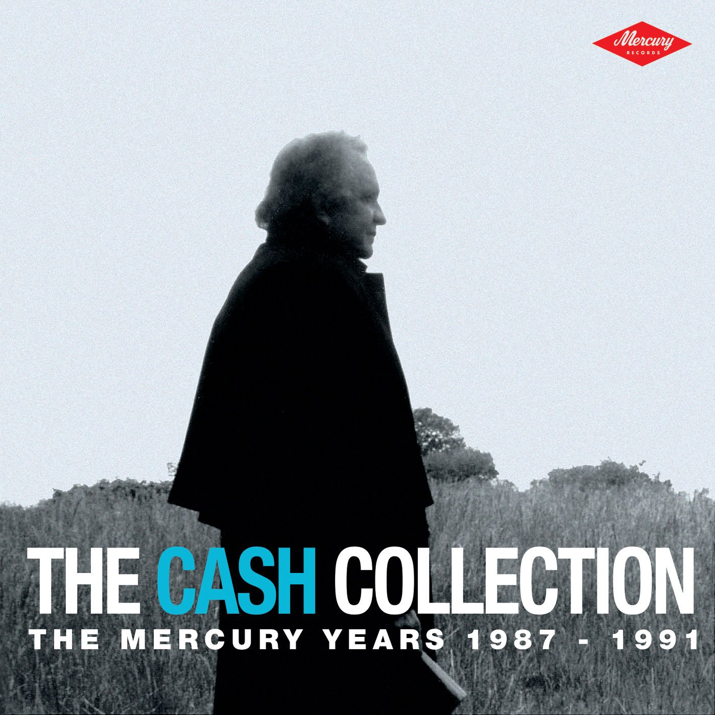 Johnny Cash - The Cash Collection  The Mercury Years 1987-1991 (Silver Pressed Promo 3CD)*