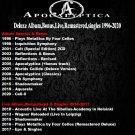 Apocalyptica - Deluxe Album,Bonus,Live,Remastered,singles 1996-2020 (21CD Promo Edition 2020)