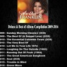 Aretha Franklin - Deluxe & Best of Album Compilation 2009-2016 (16CD Promo Edition 2020)