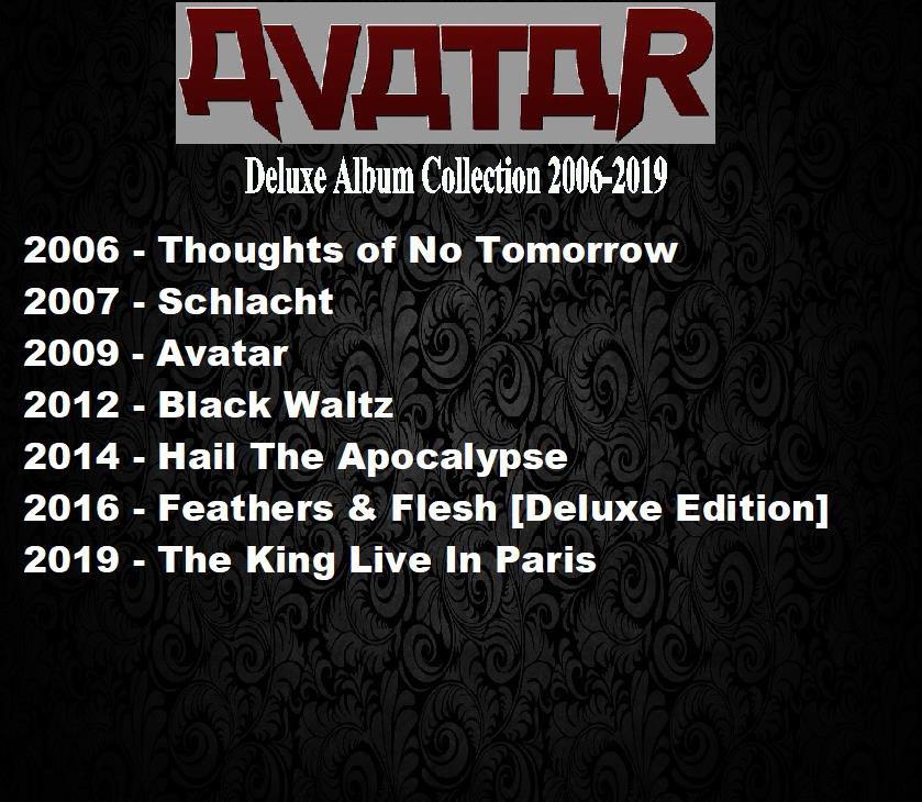 Avatar - Deluxe Album Collection 2006-2019 (7CD Promo Edition 2020)