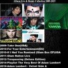 Adam Lambert - Album,Live & Remix Collection 2009-2019 (7CD Promo Edition 2020)