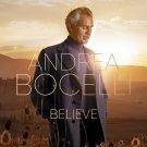 Andrea Bocelli - Believe (2020) CD Promo
