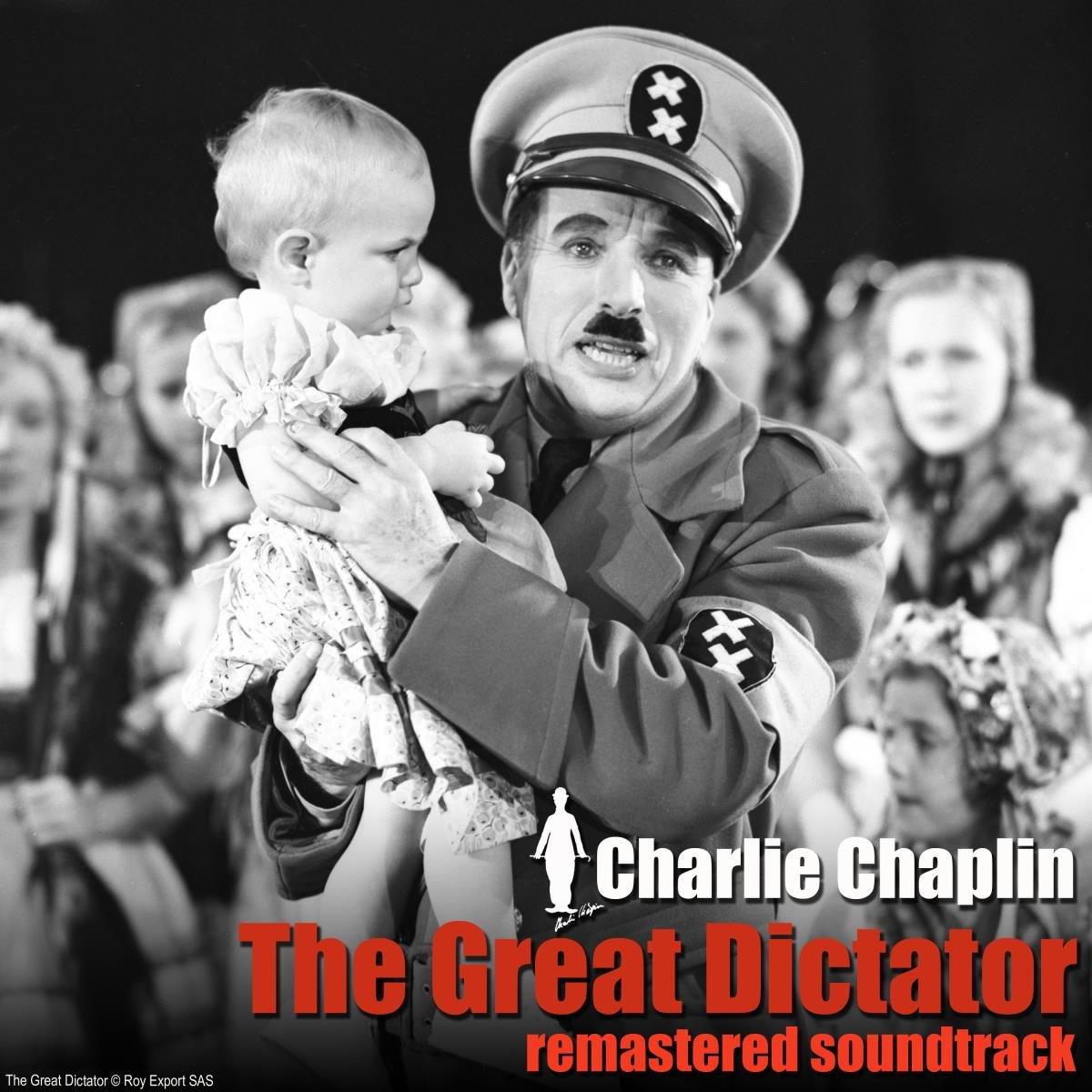Charlie Chaplin - The Great Dictator Remastered (2020) CD