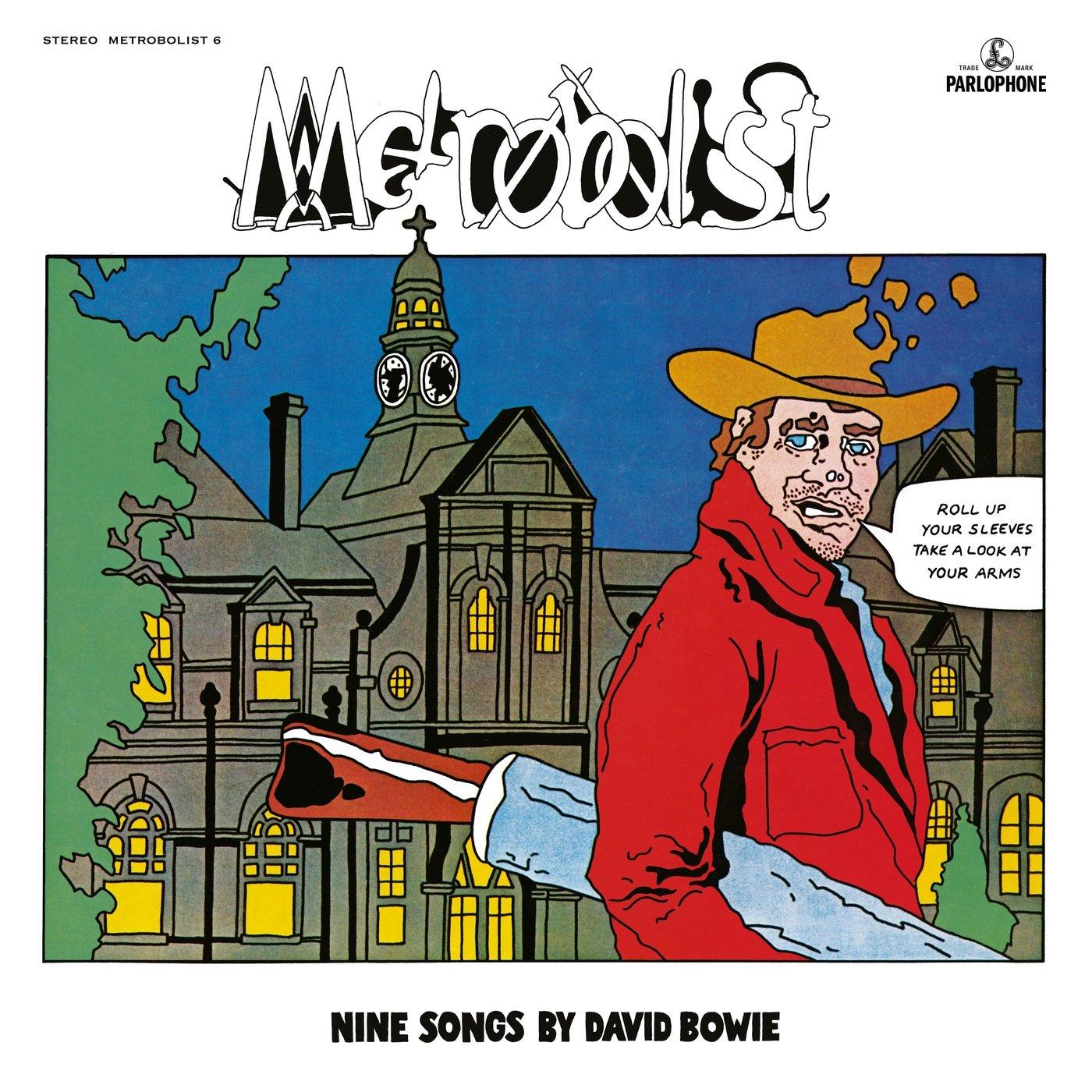 David Bowie - Metrobolist [Aka The Man Who Sold The World 2020 Mix] (2020) CD