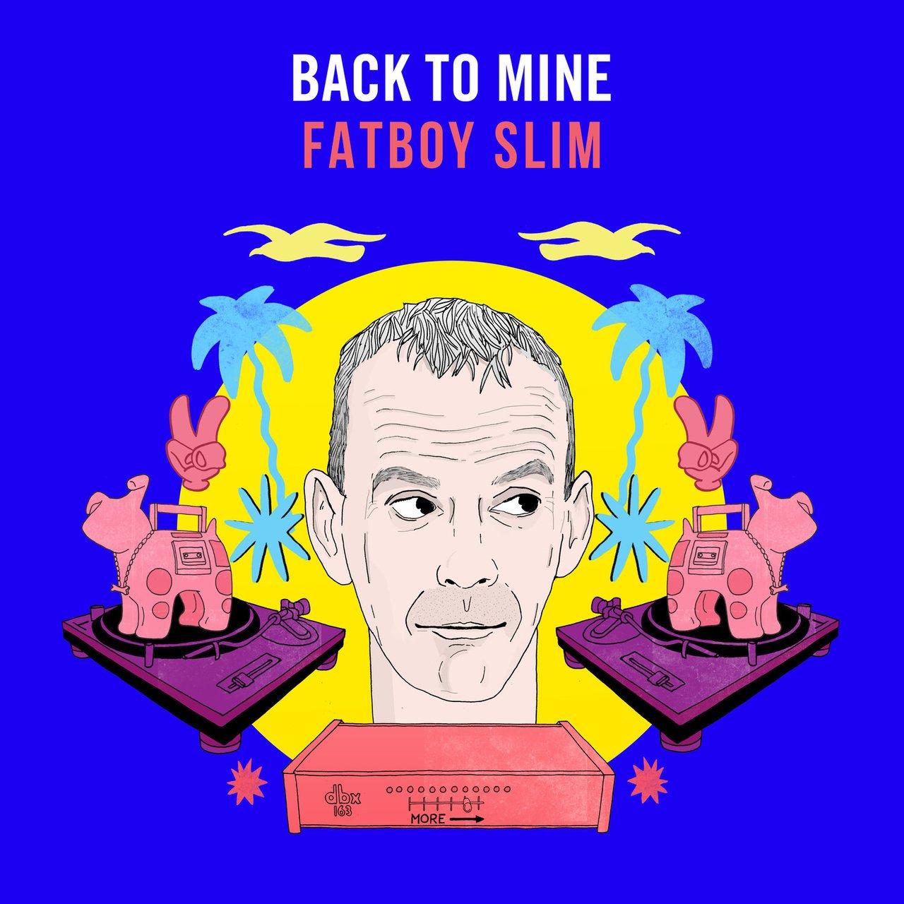 Fatboy Slim - Back To Mine (2020) 2CD Promo