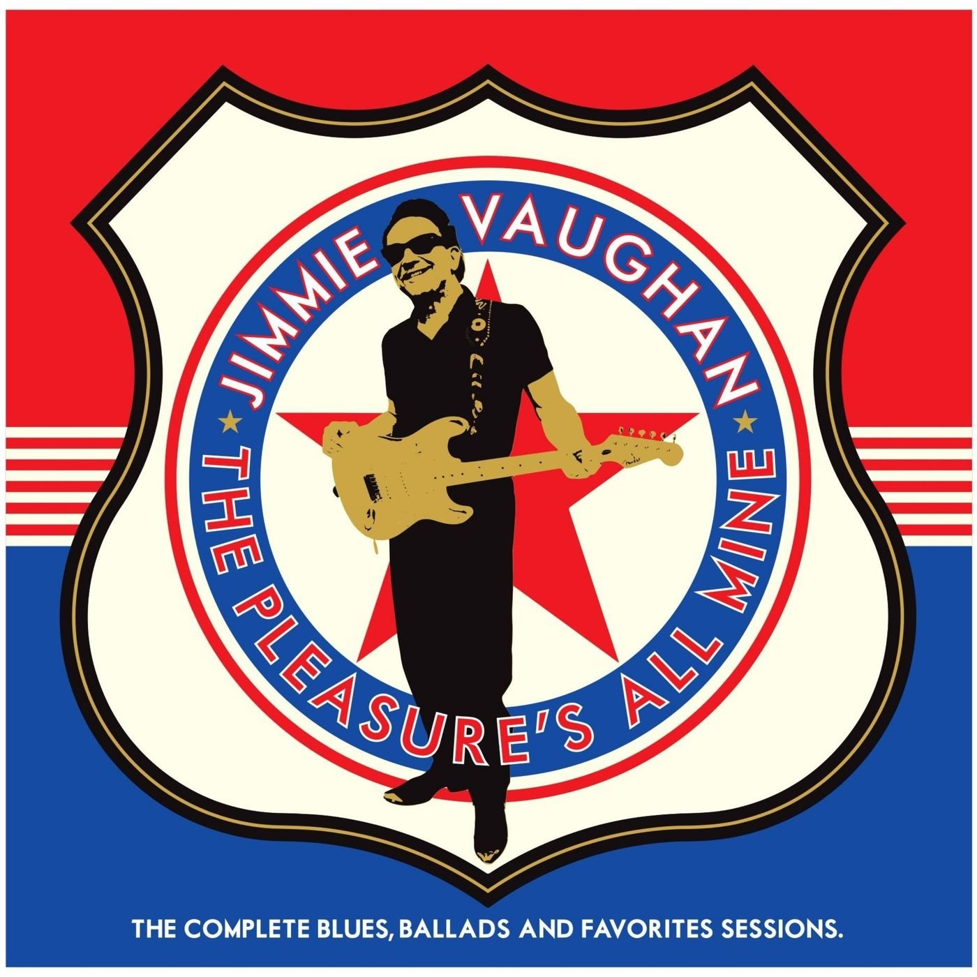 Jimmie Vaughan - The Pleasures All Mine The Complete Blues Ballads And Favorites Sessions (2020) 2CD