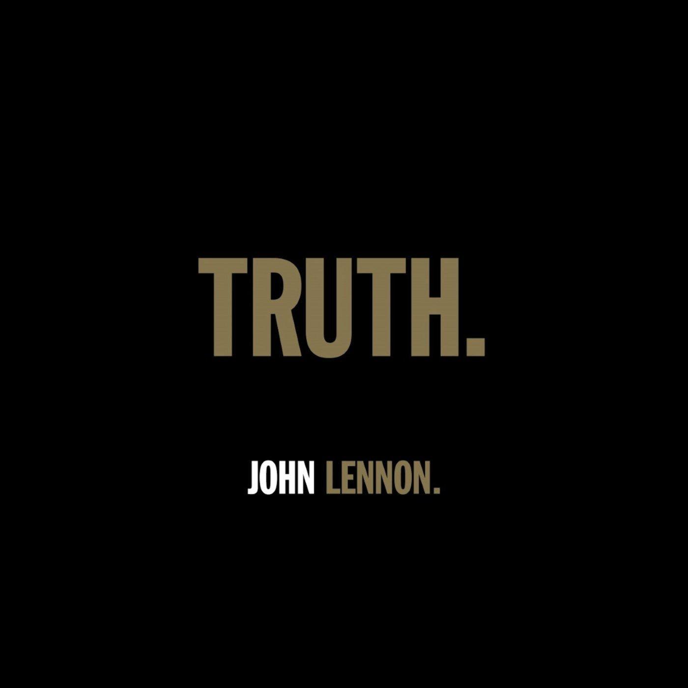 John Lennon - Truth. (2020) CDSingle